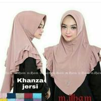 jilbab instan bahan Jersey
