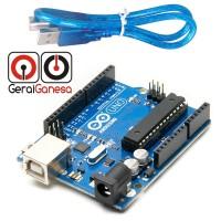 UNO V3 DIP ATMEGA16U2 + Kabel USB