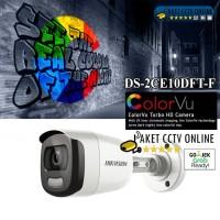 NEW HIKVISION DS-2CE10DFT-F ColorVu 2MP Full Time Colour 1080p