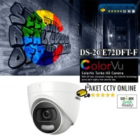 NEW HIKVISION DS-2CE72DFT-F ColorVu 2MP Indoor Full Time Colour 1080p