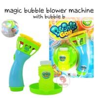 Zoetoys Magic Bubble Blower Machine With Bubble B | mainan edukasi