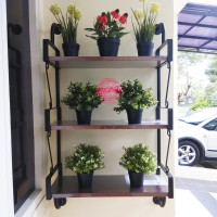 Furniture - Simplicity - Rak dinding 3 Layer Model 3 (C)