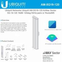 Ubiquiti Airmax Sectoral 5,8Ghz 19dbi 120degree / AM-5G19-120