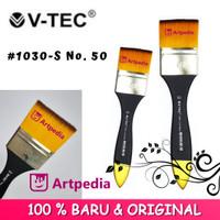 V-Tec Kuas 1030 - S No. 50 / Kuas Lukis Vtec Artist Brushes No. 50