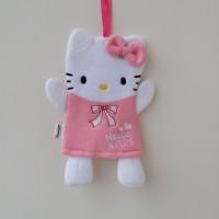 Waslap Handuk Kucing Pita Pink
