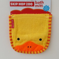 Skip Hop Zoo Waslap / Bath Mitt Bebek Kuning