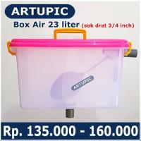 Box Air 23 liter regulator penampung penurun tekanan air nipple