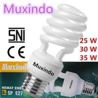 Termurah - Lampu Bohlam / Lampu Hemat Energi / 25-35 watt Spiral E27