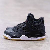 Air Jordan 4 Laser Black 100% Authentic