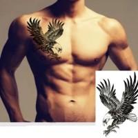 Tattoo Burung Rajawali 19x12 Cm