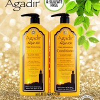 AGADIR ARGAN OIL - MOISTURIZING SHAMPOO / CONDITIONER 1 LITER