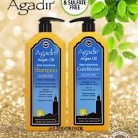 AGADIR ARGAN OIL - VOLUMIZING SHAMPOO / CONDITIONER (1 LITER)