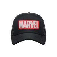 Snapback Trucker Dewasa Black Logo Marvel MAVG10016BLK-0119 be40e34ec6