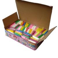 Set 60 pcs Super Light Clay Slime Bantal mainan edukasi sensory play