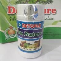 Kapsul Detopar Detox paru Herbal De Nature