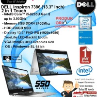 DELL Inspiron 7386 2 in 1 Intel Core i5-8265U/8GB/256GB/WIN10HSL/1YR