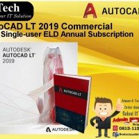 AutoCAD LT 2019 Commercial New Single-user ELD Annual Subscription