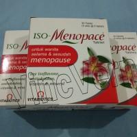 ISO MENOPACE 30tablet Suplemen untuk wanita menopause