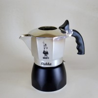 Bialetti Brikka Moka Pot Coffee Maker for 2 Cups