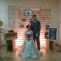 photobooth or photo corner pure rustic jakarta