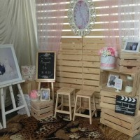 photobooth or photocorner sweet rustic jakarta