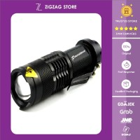 Pocketman Senter LED Flashlight 2000 Lumens Waterproof