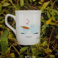 Mug Nescafe Souvenir wedding