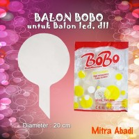 BALON PLASTIK Balon LED/Balon BOBO/BOBO Balon/Balon Lampu Tumblr