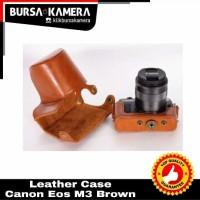 SALE...!!! Leather Case Canon M3