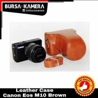 SALE...!!! Leather Case Canon Eos M10
