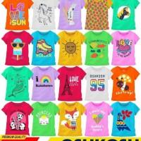 Kaos anak girls junior size 68101214