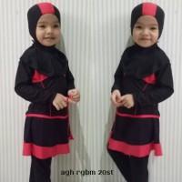 Baju Renang Anak Bayi Cewek Perempuan Muslim (1-3 tahun)