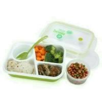 Lunch Box Bento YooYee Sekat 4 Sup Hijau