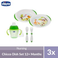 Chicco Dish and Cutlery Set 12M+