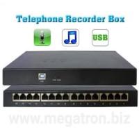 Alat Perekam Pembicaraan Telepon (16 port) - Telephone Recorder Logger