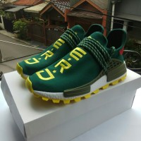 8e92f41db6c18 Adidas NMD Human Race Pharrell x NERD Green Perfect Kick PK