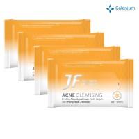 Beli 3 Gratis 1 JF Acne Cleansing Wet Wipes
