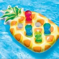 Pineapple Drink Holders Floating 6 Hole - Intex 57505