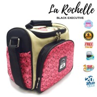 Tas Bekal Black Executive Lunch Bag Naimax Cooler Bag