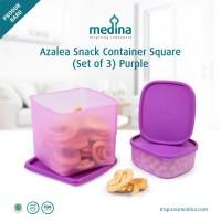 Toples Snack - Toples Makanan Mini - Azalea Minis - Tupperware 3 set