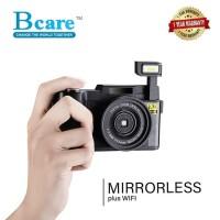 Bcare Mirrorless Camera WIFI 24MP Full FHD 1080P Video 3' LCD Anti UV