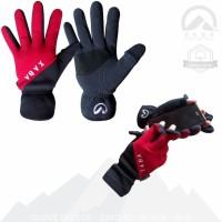 Sarung Tangan Lapangan Outdoor Polar Full Finger - Glove XABA Gayo-02