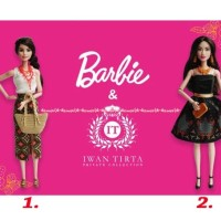 Barbie Kirana Batik Dress Boneka Berbie Baju Batik Designer Indonesia