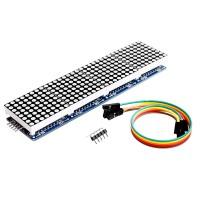 Max7219 x 4 Dot Matrix Module 4in1 Display for Arduino 32x8