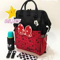 Tas Bayi Anello Diaper Bag Mickey Mouse Bag Minnie Diaperbagggg GEN 3