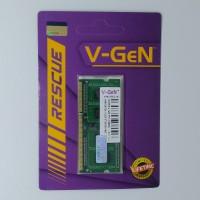 RAM DDR3 SODimm V-GeN RESCUE 4GB PC12800/1600Mhz (Memory Laptop VGEN)