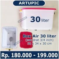 Box Air 30 Liter Regulator Penampung Torent Penurun Tekanan Air Untuk