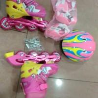 Sepatu Roda lengkap Full set & bisa di set Roda Bajaj