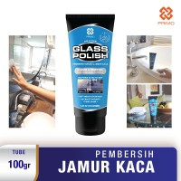 PRIMO GLASS POLISH Pembersih, Pengilap Kaca 100gram
