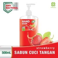 Sabun Cuci Tangan PRIMO Anti Bacterial HAND SOAP 500mL - Strawberry